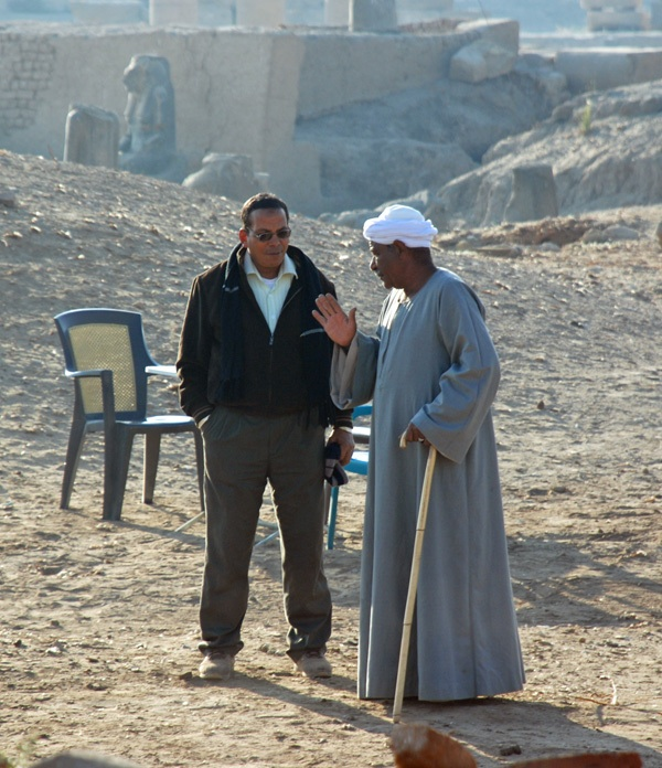 Inspector and Reis Farouk