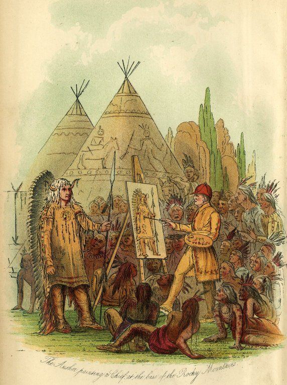 Letters and notes on the manners, customs, and conditions of the North American Indian
