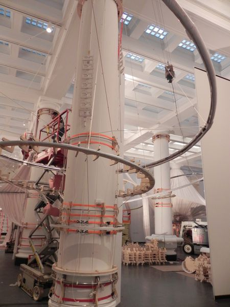 Situ Studio installs reOrder in the Great Hall