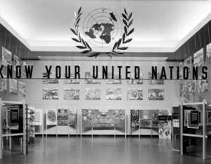 Know Your United Nations installation
