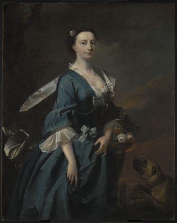 Mrs. John Wendt, circa 1745