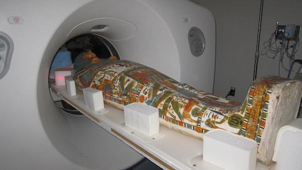 CT Scanning of Inner Cartonnage of Gautseshenu