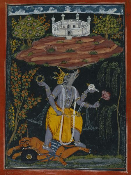 Varaha Rescuing the Earth