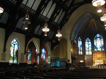 interior of Trinity Church