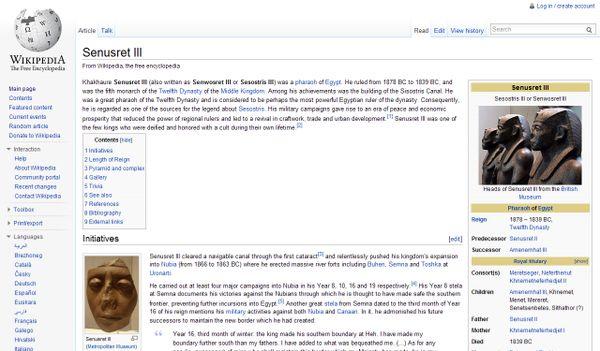 Senwosret III Wikipedia