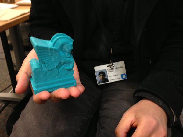 Double Pegasus 3D Print