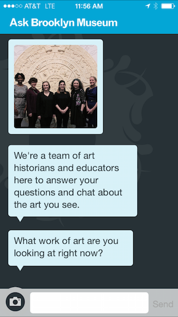 A new onboarding process presents a series of messages that introduce the team.