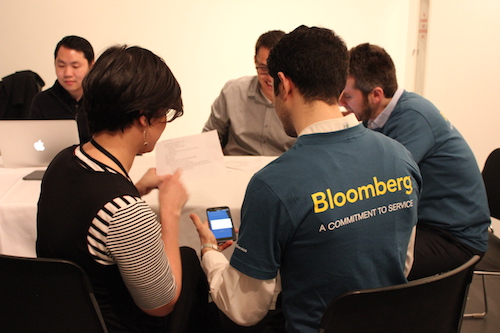 For both iOS and Android apps, Bloomberg employees helped us test each app prior to launch.