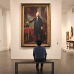 The Stuart portrait of Washington has greater prominence in the redesign American art galleries than the previous installation.