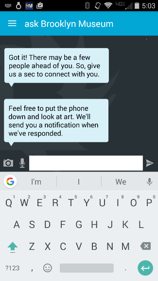 """We added the """"put down the phone"""" message as an auto-fire once we knew it was working."""