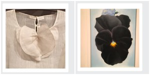 GOK Blouse and Pansy