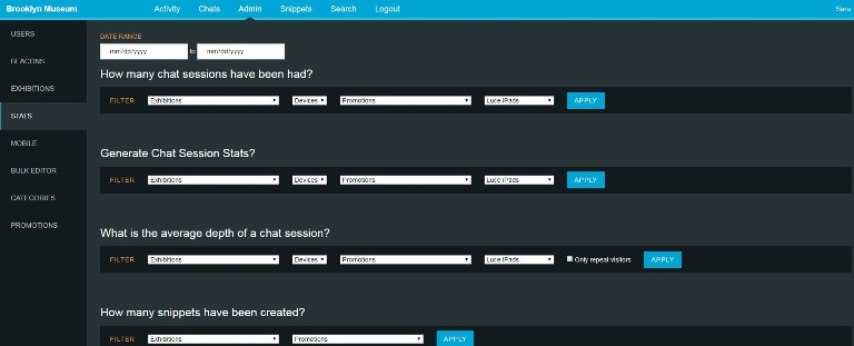 The ASK dashboard tracks certain metrics already, but we have yet to delve into the 11,000 chats we've had with users.