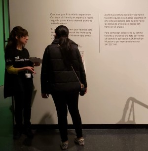 Our Ambassadors found that visitors were more likely to read signage and listen to pitches after the cards were updated.