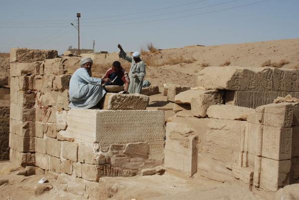 Taharqa Gate, Jan 29