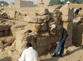 Taharqa Gate, South Wing Repair