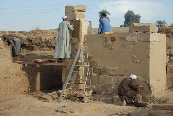 Taharqa Gate Final Coat