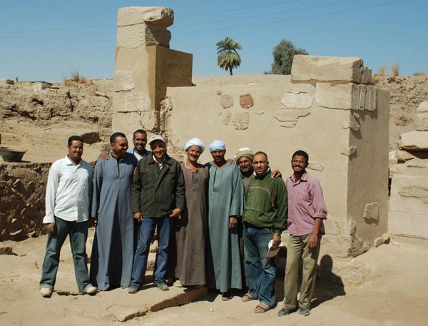 Taharqa Gate Team